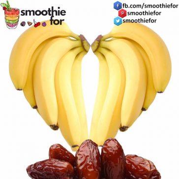 Banana & Date Smoothie For Energy Recipe smoothie for energy smoothie liver cleanse smoothie energetic smoothie recipes date banana
