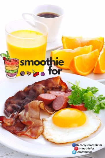 Quality of a Breakfast = YOU! smoothie for breakfast breakfast