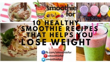best 10 healthy smoothies for weight loss