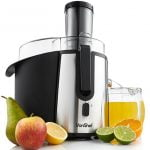 VonShef Whole Fruit Juice Extractor Centrifugal Juicer Machine