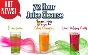 72 hour juice cleanse
