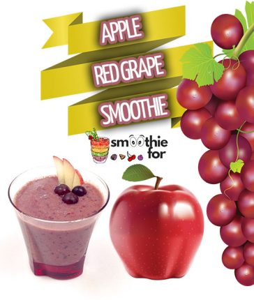 Apple and Red Grape Smoothie Recipe Apple Smothie Apple and Red Grape Smoothie Recipe