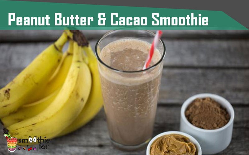 Peanut-Butter-Cacao-Smoothie