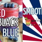 Red, Black and Blue Smoothie Recipe