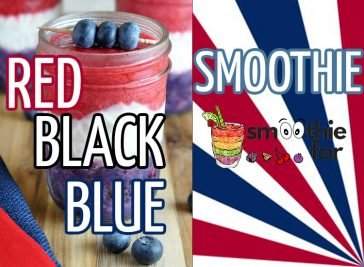 Red, Black and Blue Smoothie Recipe smoothie for weight loss Black and Blue Smoothie Recipe