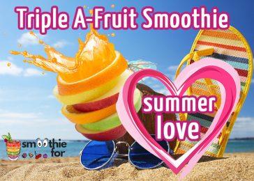 Summer Love 3 Ingredient Smoothie Recipe Summer Smoothie Smoothie Recipe smoothie for summer smoothie for energy smoothie apricot apple almond 3 taste Smoothie