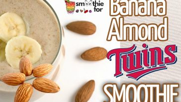 Sweet Twins Banana Almond Smoothie Recipe