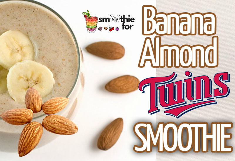 Sweet Twins Banana Almond Smoothie Recipe smoothie for weight loss smoothie for breakfast Banana Almond Smoothie Recipe banana almond milk almond