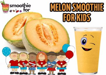 Melon Smoothie for Kids yogurt smoothie for kids melon smoothie