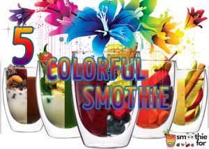 5 colorful smoothie for weight loss