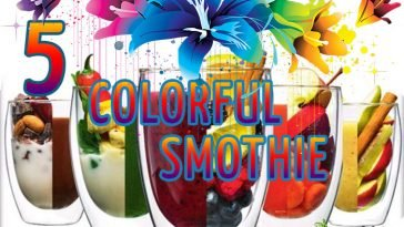 5 Colorful Smoothie Recipes smoothie colorful smoothie cleanser smoothie almond milk