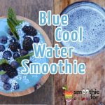 Blue Cool Water Smoothie Recipe 2
