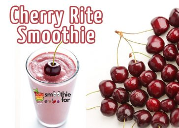 Cherry Rite Smoothie for Every Meal weight loss smoothie for every meal smoothie pineapple breakfast banana almond