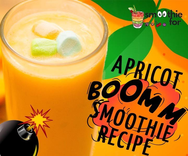Apricot Bomb Smoothie Recipe for Weight Loss weight loss smoothie for weight loss smoothie for easy digestion pineapple apricot smoothie for weight loss Apricot Smoothie apricot