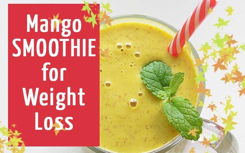 Mango-Smoothie-for-Weight-Loss