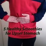 healthy smoothie for upset stomach
